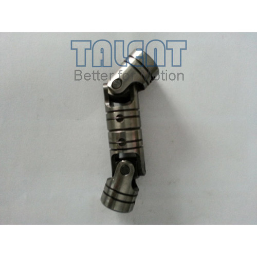 05WDD double universal joint is a precision double cardan joint coupling, which is tailored to your specific application requirements, compensates for both parallel misalignment and shaft separation.
