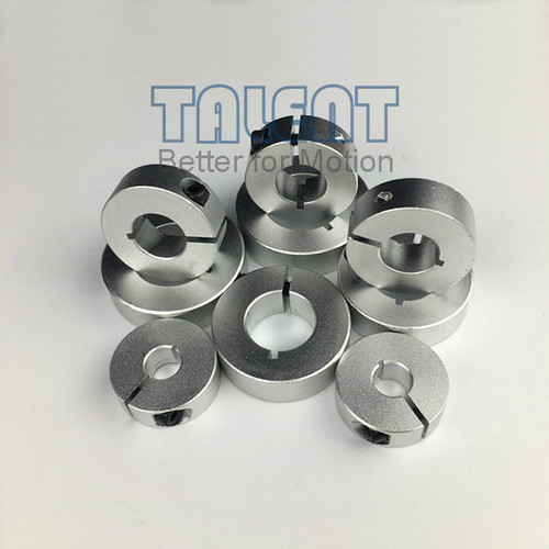 clamp shaft collars, instead of Misumi SCS shaft collar clamp