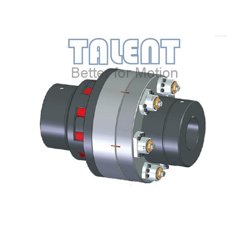 Heavy duty safety coupling, modular torque limiter, suitable for shredders, recycling, mills , extruder drives, test bench technology as well as general heavy-duty drives.