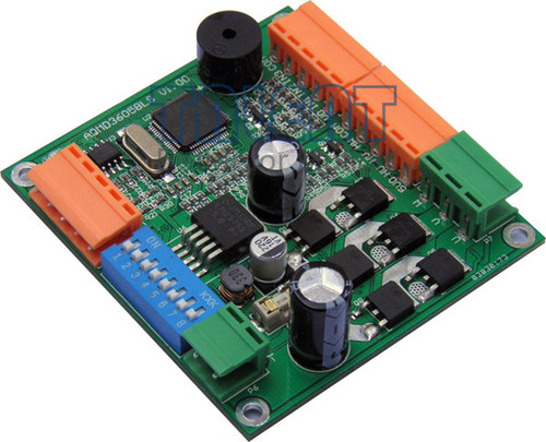 180W DC Brushless Motor Driver, Position/Speed/Current PID Control