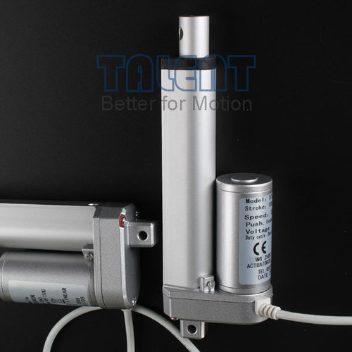 Low cost electric push pull rod, small linear actuator