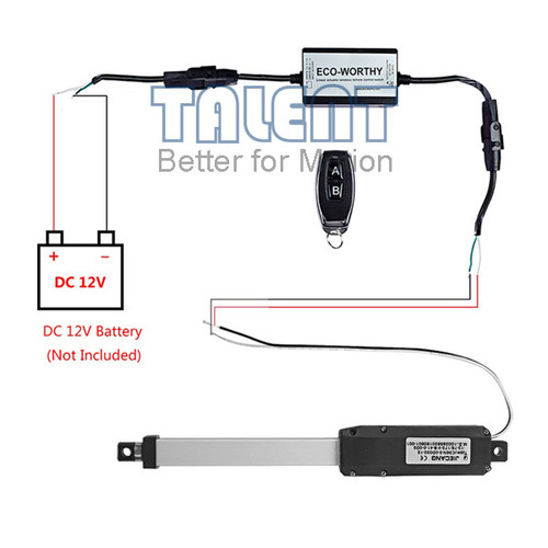 Micro DC linear actuator controller