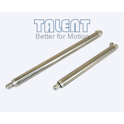 All stainless steel linear actuator, with internal multi-structure adjustment, making it waterproof and noise optimized, designed for high-end medical instruments, medical wheelchairs, furniture equipment, and outdoor equipment, etc
