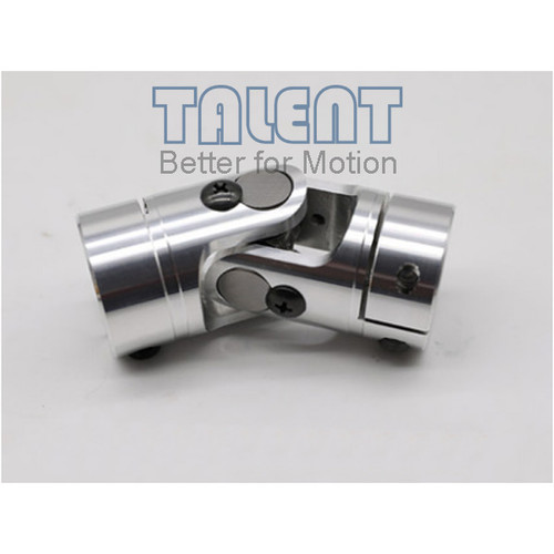 40mm Aluminum alloy single universal joint coupling encoder miniature needle bearing coupling