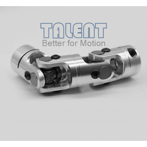 49mm Aluminum alloy double universal joint coupling encoder miniature needle bearing coupling
