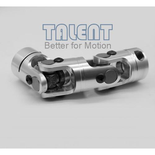49mm Aluminum alloy double universal joint coupling encoder miniature needle bearing coupling