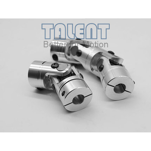 40mm Aluminum alloy double universal joint coupling encoder miniature needle bearing coupling