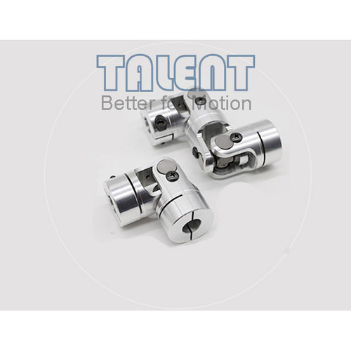 25mm Aluminum alloy double universal joint coupling encoder miniature needle bearing coupling