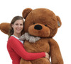 "Joyfay® Soft 63"" Giant Dark Brown Teddy Bear Toy"