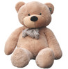 "Joyfay® Stuffed 63"" (5.25 ft ) Light Brown Giant Teddy Bear"