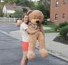 """Joyfay® Stuffed 63"""" (5.25 ft ) Light Brown Giant Teddy Bear"""