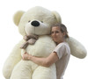 "Joyfay® 78"" (6.5 ft) Giant Teddy Bear White"