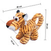 "Joyfay® Toy Tiger- 12"" Plush makes a Great Gift for your Little Cub"