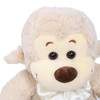 "Joyfay® Toy Monkey- 10"" (0.83 ft) Gray Stuffed Monkey is Playful and Curious"