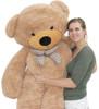 """Joyfay® 78"""" (6.5 ft) Giant Teddy Bear Light Brown"""