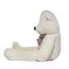 """Joyfay® 63"""" (5.25 ft )Gentle White Teddy Bear Stuffed Toy"""