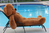 "Joyfay® 78"" ( 6.5 ft ) Dark Brown Giant Teddy Bear - Valentine's Day gift"