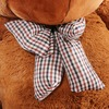 "Joyfay® Enormous 91"" Teddy Bear 7.5 ft Giant Dark Brown Plush Toy"