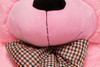 """Joyfay® Big 91"""" (7.6 ft) Pink Teddy Bear- This Fuzzy Giant is 7ft Plus in Stature"""