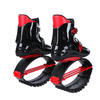 JOYFAY Black and Red Jumping Shoes- Unisex Fitness Jump Shoes Bounce Shoes(XL, XXL)