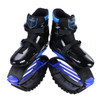 JOYFAY Black and Blue Jumping Shoes- Unisex Fitness Jump Shoes Bounce Shoes(XL, XXL)