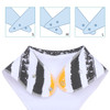 "Joyfay® 4-Pack Baby Bandana Drool Bibs - ""Leaves"" Set"