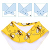 "Joyfay® 4-Pack Baby Bandana Drool Bibs - ""Pentagram"" Set"