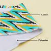 "Joyfay® 4-Pack Baby Bandana Drool Bibs - ""Yellow - Blue"" Set"