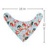 "Joyfay® 4-Pack Baby Bandana Drool Bibs - ""Red Fox"" Set"