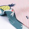"Joyfay® 4-Pack Baby Bandana Drool Bibs - ""Pineapple and Rabbit"" Set"