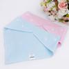 "Joyfay® 4-Pack Baby Bandana Drool Bibs - ""Pink and Blue"" Set"
