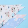 """Joyfay® 4-Pack Baby Bandana Drool Bibs - """"Cloud and Cat"""" Set"""