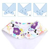 "Joyfay® 8-Pack Baby Bandana Drool Bibs - ""Flower"" Set"