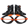 JOYFAY Black and Orange Jumping Shoes- Unisex Fitness Jump Shoes Bounce Shoes(L,XL, XXL)