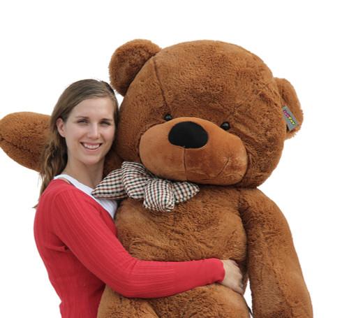 "Joyfay® Soft 63"" Giant Dark Brown Teddy Bear Toy"