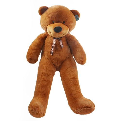 "Joyfay® Giant 63"" (5.25 ft ) Stuffed Dark Brown Teddy Bear Toy"