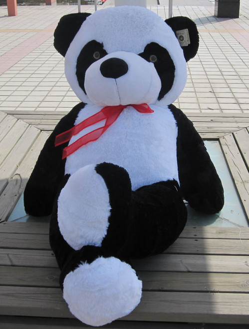 "Joyfay® Big 47"" (3.9 ft) Black and White Panda Stuffed Toy"