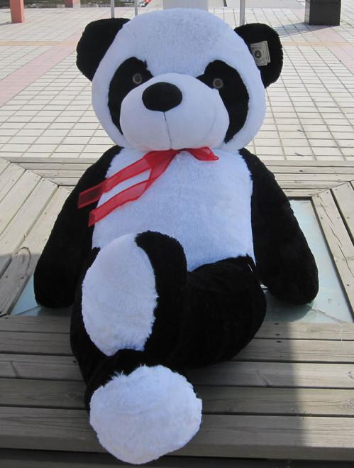 "Joyfay® Big 47"" (3.9 ft) Black and White Panda Stuffed Toy"