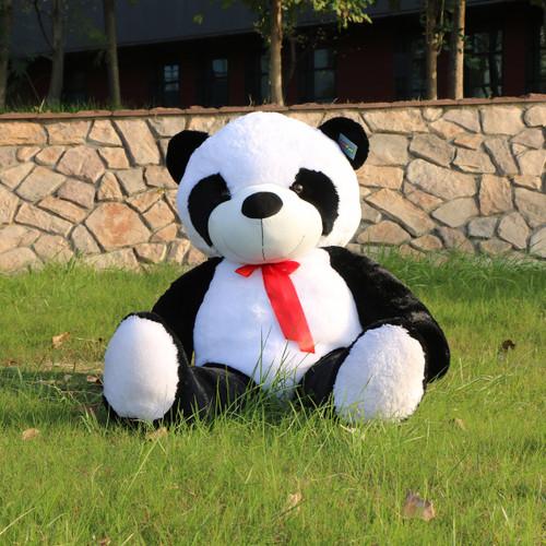 "Joyfay® Big 47"" Black and White Panda Stuffed Toy"