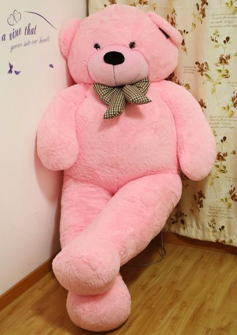 Joyfay® Pink Giant Teddy Bear- 78 Inches (6.5 ft)
