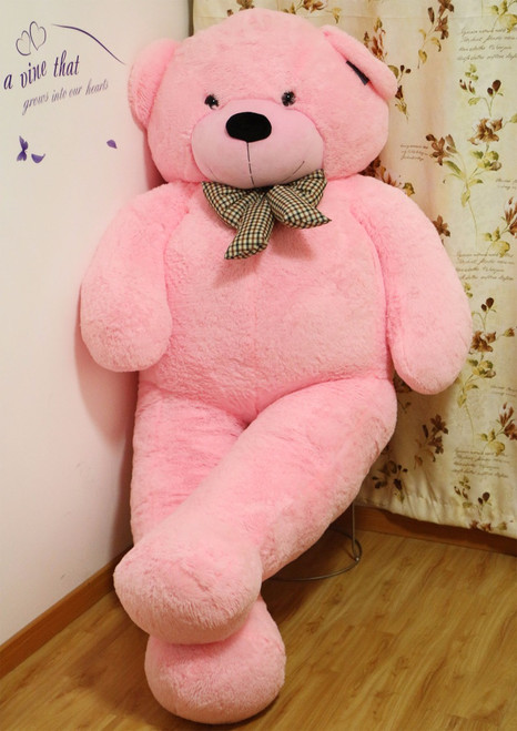 Joyfay® Pink Giant Teddy Bear- 78 Inches (6.5 ft)