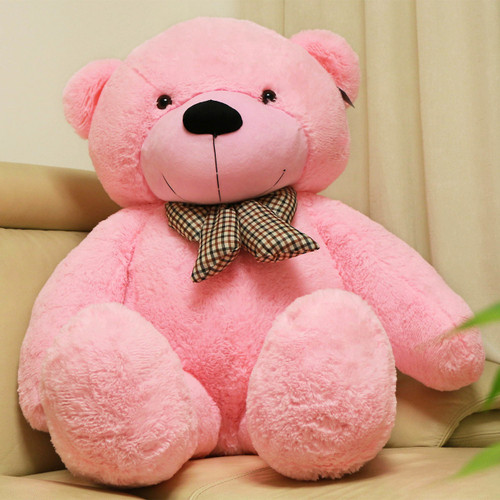 "Joyfay® 63"" (5.25 ft) 160cm Pink Giant Teddy Bear, Huggable, and Lovably Soft"