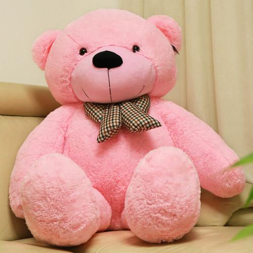"""Joyfay® 63"""" (5.25 ft) 160cm Pink Giant Teddy Bear, Huggable, and Lovably Soft"""