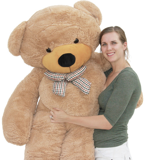 "Joyfay® 78"" Giant Teddy Bear Light Brown"