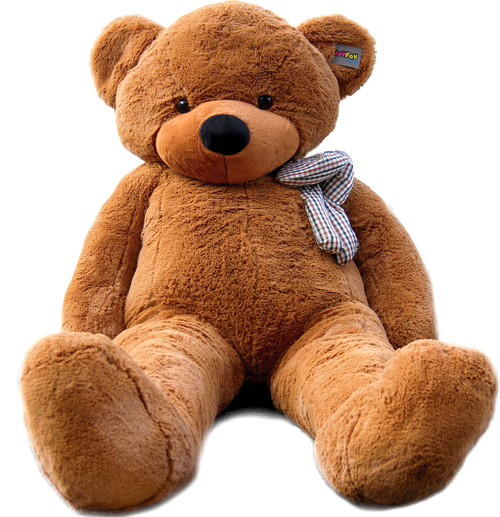 "Joyfay® 78"" ( 6.5 ft ) Dark Brown Giant Teddy Bear - Valentine's Day gift"