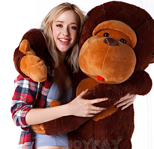 "Joyfay® 43"" (3.6 ft) Monkey Toy Gorilla Plush Stuffed Animals"