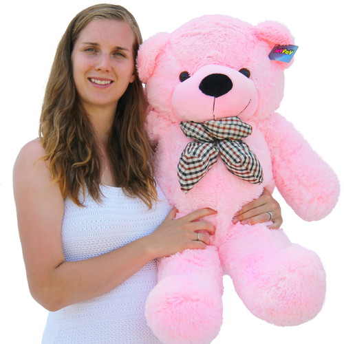 "Joyfay®  39"" (3.25 ft) 100cm Pink Giant Teddy Bear Stuffed Toy"