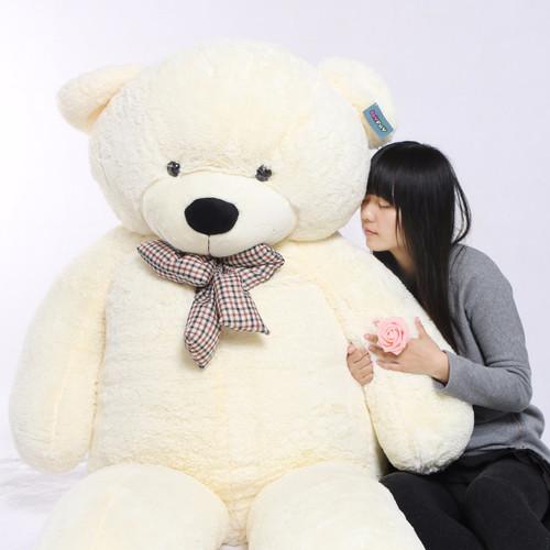 "Joyfay® Giant 91"" (7.6 ft) 230cm White Teddy Bear PlushToy"