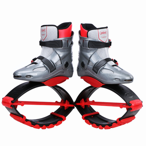 JOYFAY Red Jumping Shoes- Unisex Fitness Jump Shoes Bounce Shoes(M, L)