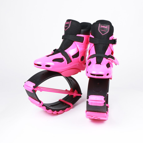 JOYFAY Pink Jumping Shoes- Unisex Fitness Jump Shoes Bounce Shoes(L)